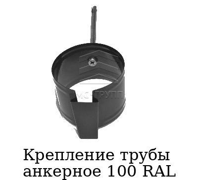 Крепление трубы анкерное 100 RAL