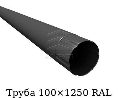 Труба 100×1250 RAL