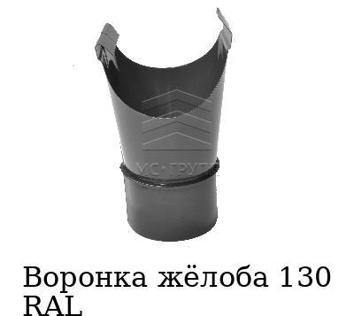 Воронка жёлоба 130 RAL