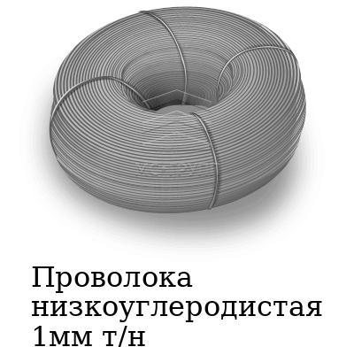 Проволока низкоуглеродистая 1мм т/н, марка ст3