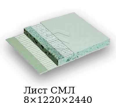 Лист СМЛ 8×1220×2440
