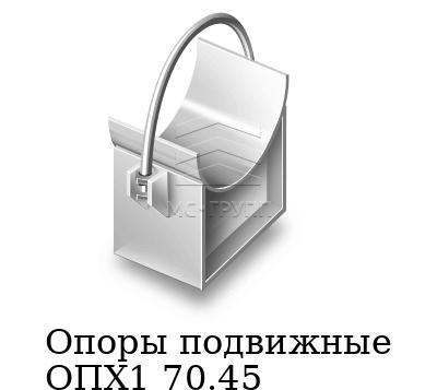 Опоры подвижные ОПХ1 70.45, марка AISI 321 (12Х18Н10Т)