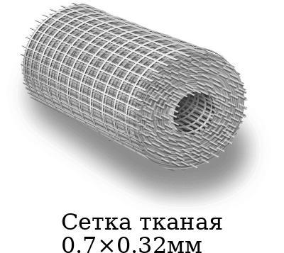 Сетка тканая 0.7×0.32мм, марка AISI 304 (08Х18Н10)