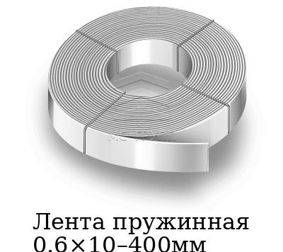 Лента пружинная 0.6×10–400мм, марка Ст65г