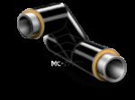 Тройниковое ответвление ППУ-ПЭ 219×57мм