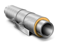 Скользящие опоры для труб в ППУ