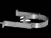 Крепление трубы на сэндвич-панель