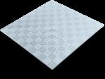 Лист рифлёный алюминиевый