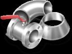 Детали трубопровода и запорная арматура