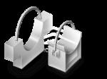 Опоры подвесные жёсткие горизонтальных трубопроводов Т25